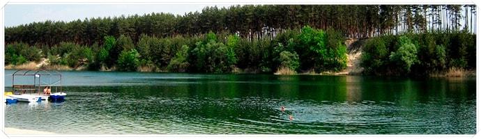базы отдыха голубые озера